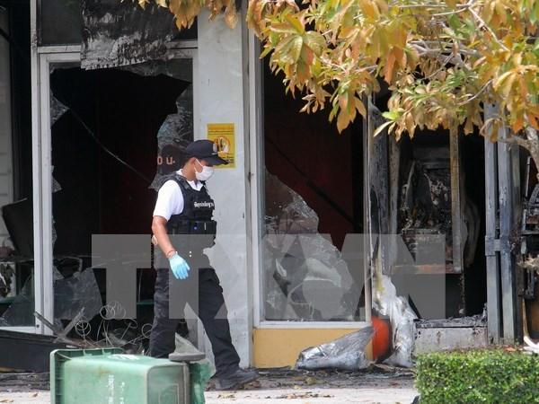 Identifican autor de atentado con bombas en hospital militar en Bangkok hinh anh 1
