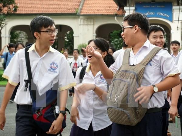 Desarrollan en Vietnam programa de educacion con estandar internacional hinh anh 1