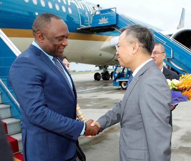 Presidente del Senado de Haiti inicia visita oficial a Vietnam hinh anh 1