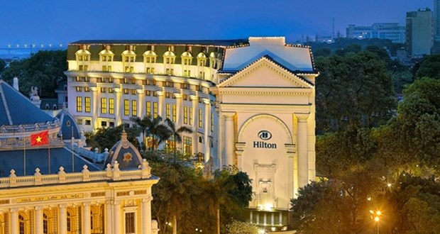 Construiran en Vietnam 11 hoteles de marca Hilton hinh anh 1