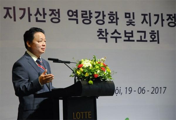 Vietnam y Sudcorea cooperan para fortalecer capacidad en evaluacion de terrenos hinh anh 1