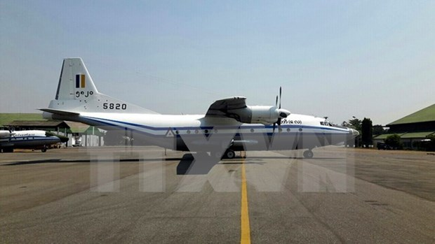 Myanmar encuentra caja negra de avion militar accidentado hinh anh 1