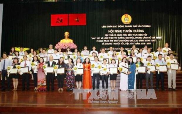 Honran a personas destacadas en campana de seguir el ejemplo de Ho Chi Minh hinh anh 1