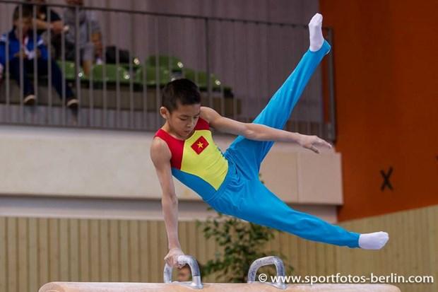 Vietnam gana cuatro oros en mundial juvenil de gimnasia hinh anh 1