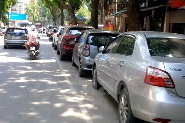 Hanoi estimula inversion en construccion de estacionamientos subterraneos hinh anh 1