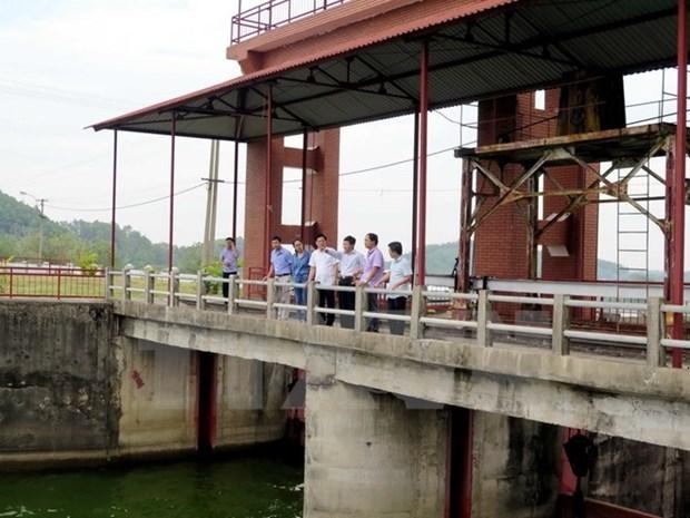 Debaten medidas para reparacion urgente de represa en lago Nui Coc en Thai Nguyen hinh anh 1