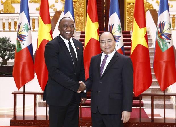 Premier de Vietnam aboga por impulsar cooperacion con Haiti hinh anh 1