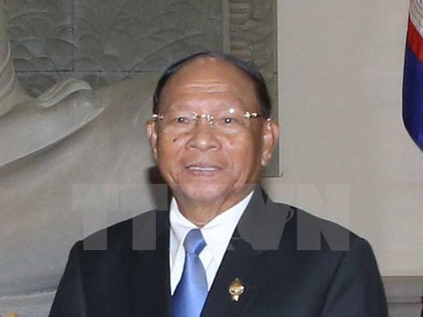 Presidente de Asamblea Nacional de Camboya visitara Vietnam hinh anh 1