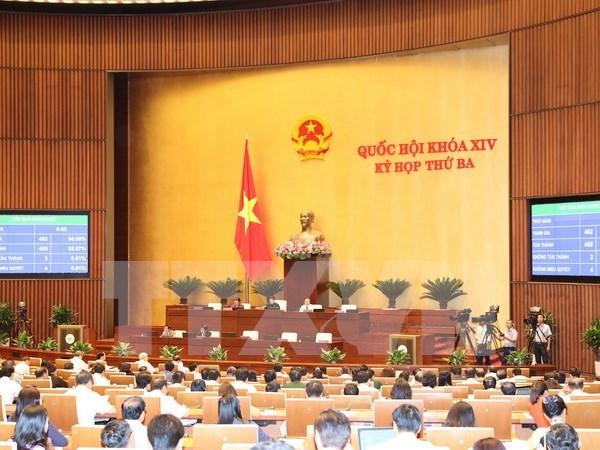 Parlamento vietnamita aprueba resolucion sobre balance presupuestario hinh anh 1