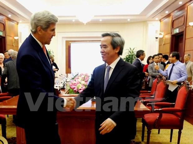Vietnam y EE.UU. buscan cooperar en desarrollo de energias renovables hinh anh 1