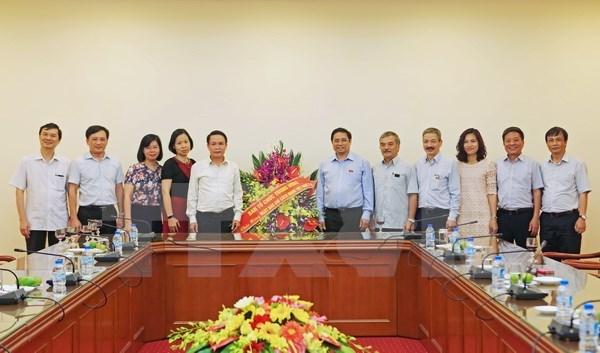 Resaltan papel de VNA como organo informativo estrategico del Partido Comunista hinh anh 1