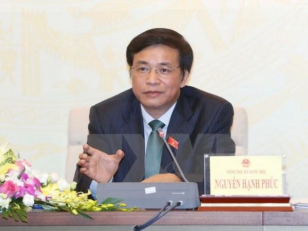 Parlamento vietnamita cumple intensa agenda de tercer periodo de sesiones hinh anh 1