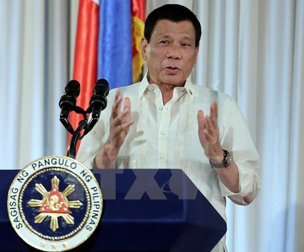 Presidente de Filipinas se disculpa por situacion en Marawi hinh anh 1