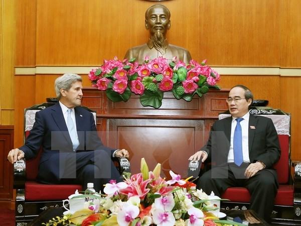 Recaban ayuda de EE.UU. para convertir a Ciudad Ho Chi Minh en centro financiero hinh anh 1