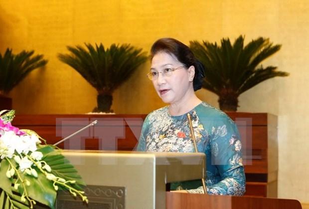 Diputados vietnamitas satisfechos por debates en tercer periodo de sesiones del Parlamento hinh anh 1