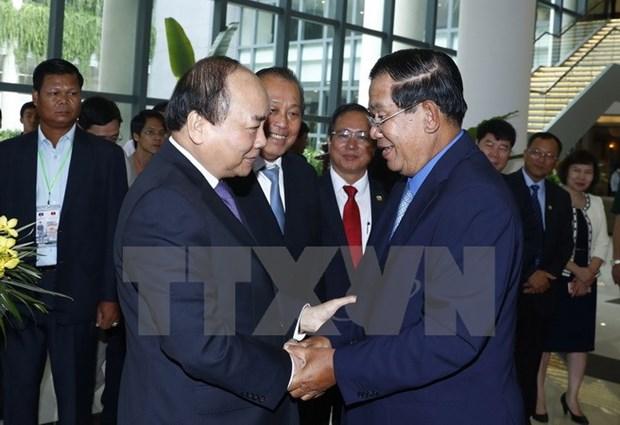 Vietnam y Camboya por construir una frontera pacifica y cooperativa hinh anh 1