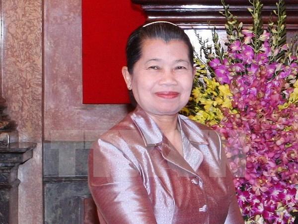 Vicepremier camboyana destaca apoyo de Vietnam a construccion de la paz en su pais hinh anh 1