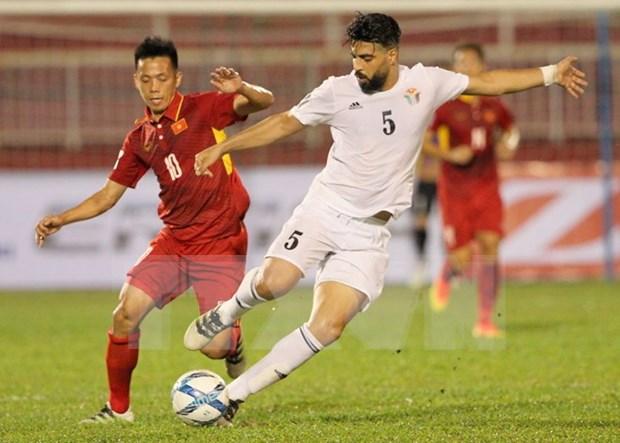 Seleccion sub 17 de Vietnam vence a Camboya en partido amistoso de futbol hinh anh 1