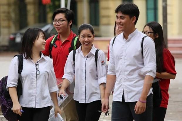 Mas de 866 mil bachilleres vietnamitas inician examenes de graduacion hinh anh 1