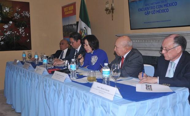 Cumbre del APEC 2017 impulsa relaciones Vietnam-Mexico hinh anh 1