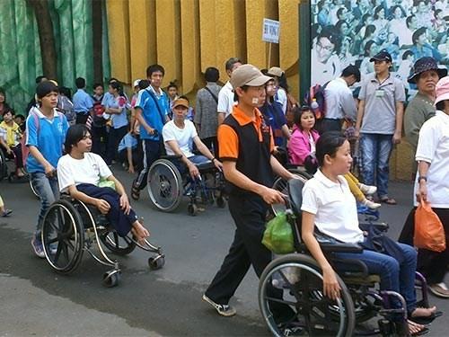 Promueven derechos de personas con discapacidad en Vietnam hinh anh 1