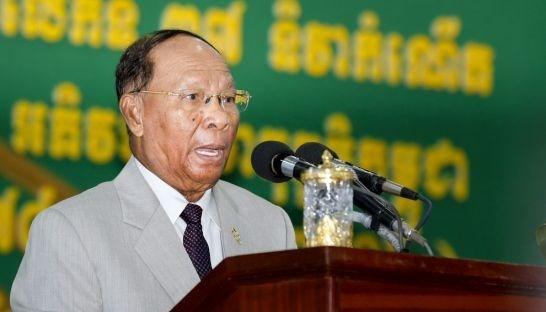 Presidente de Asamblea Nacional de Camboya inicia visita a Vietnam hinh anh 1