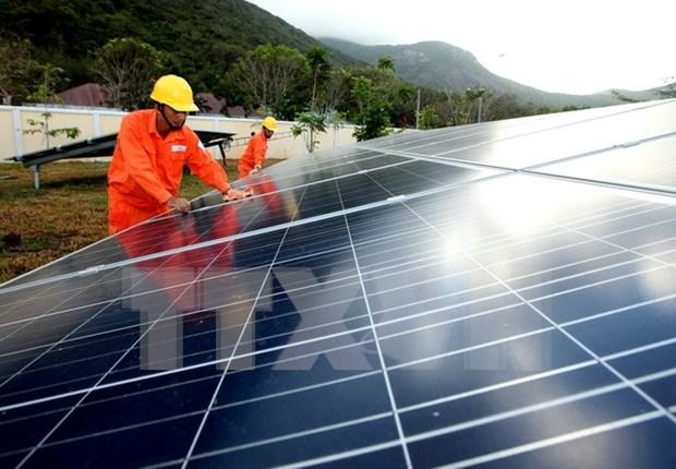 Construyen planta de energia solar en provincia vietnamita de Long An hinh anh 1