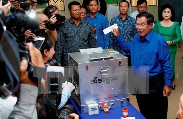 Partido Popular de Camboya gana comicios comunales segun resultados oficiales hinh anh 1