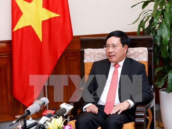 Vicepremier de Vietnam resalta desarrollo incesante de lazos con Camboya hinh anh 1