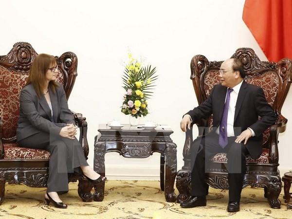 Premier de Vietnam aboga por una cooperacion mas eficaz con Israel hinh anh 1