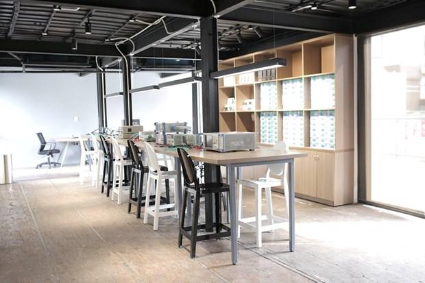 Abren en Hanoi nuevo espacio creativo para emprendedores hinh anh 1