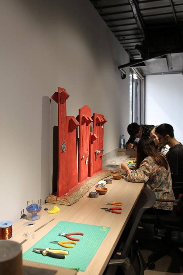 Abren en Hanoi nuevo espacio creativo para emprendedores hinh anh 4