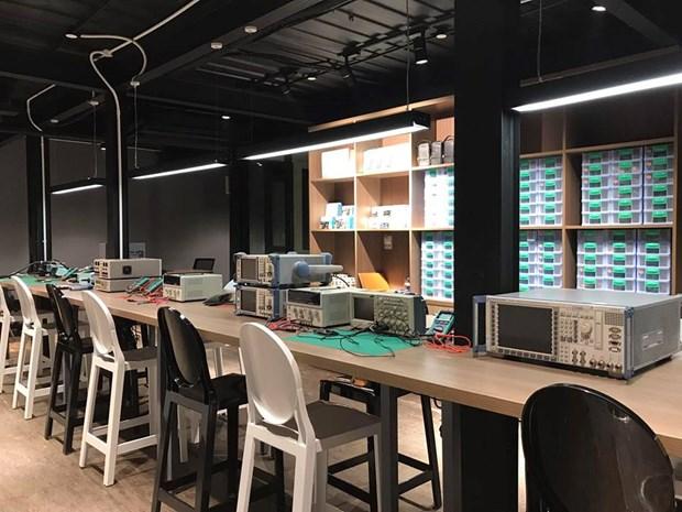 Abren en Hanoi nuevo espacio creativo para emprendedores hinh anh 8