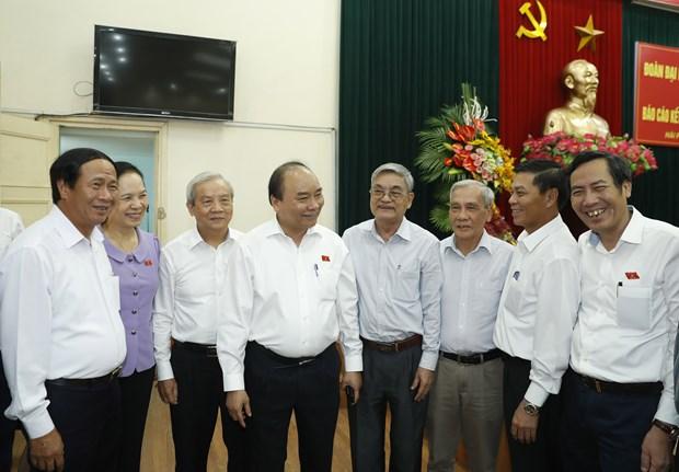 Establecimiento de gobierno integro y constructivo, mision de todo el sistema politico vietnamita hinh anh 1