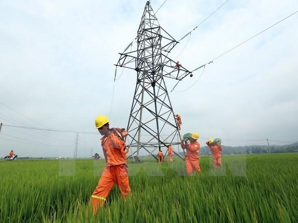 Produccion electrica de Vietnam registra alto crecimiento hinh anh 1