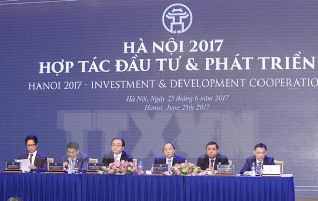 Hanoi se esfuerza para atraer a cada vez mas inversionistas hinh anh 1