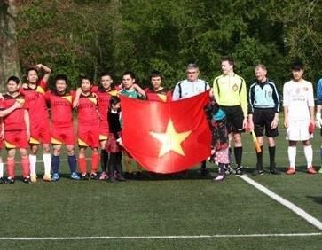 Destacan labor de Union de estudiantes vietnamitas en Belgica hinh anh 1