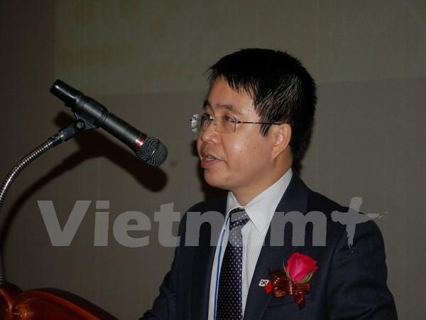 Sesiona en Sudcorea conferencia de jovenes cientificos vietnamitas hinh anh 1
