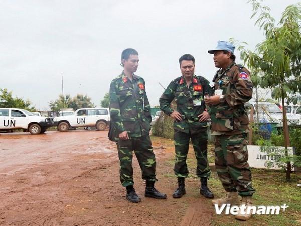 Vietnam intensifica contribucion a fuerzas de paz de la ONU hinh anh 1