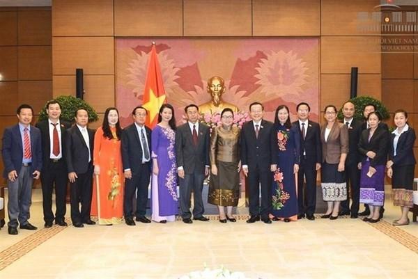 Vietnam y Laos intensifican nexos juridicos hinh anh 1