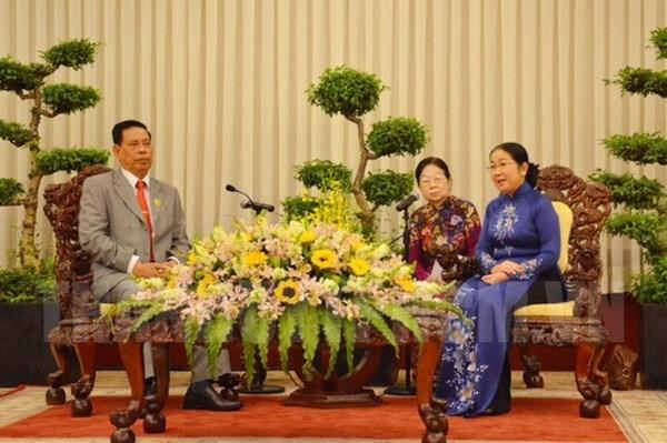 Fortalecen cooperacion entre de Ciudad Ho Chi Minh y Camboya hinh anh 1