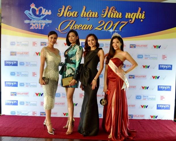 Celebraran en Vietnam final del concurso Miss Amistad ASEAN 2017 hinh anh 1