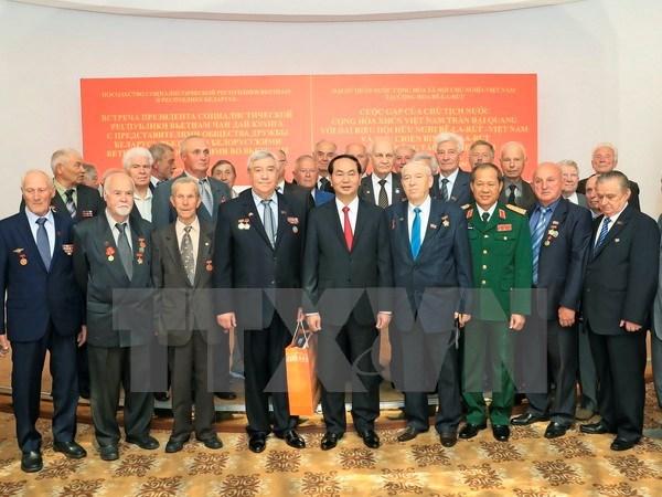 Destacan avance en intercambio popular Vietnam- Belarus hinh anh 1