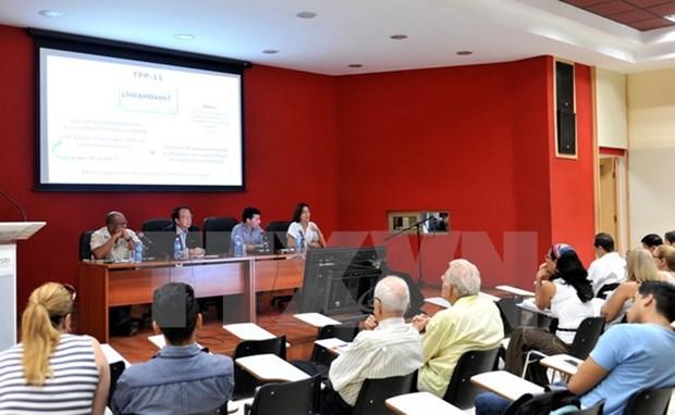 Celebran en Cuba taller cientifico sobre Vietnam y mega-acuerdos regionales hinh anh 1