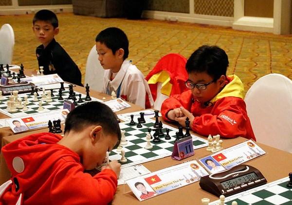 Domina Vietnam en campeonato juvenil de ajedrez en Mongolia hinh anh 1