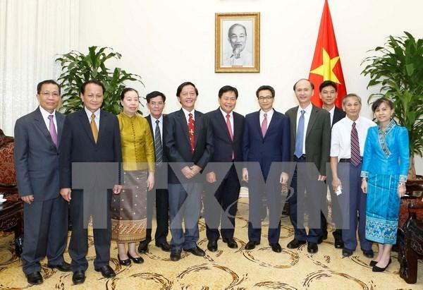 Vietnam y Laos estrechan cooperacion en sector de salud hinh anh 1