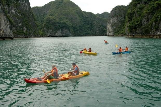 Provincia vietnamita modifica normas de actividades turisticas en Bahia de Ha Long hinh anh 1