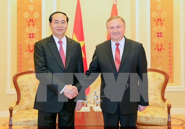Vietnam y Belarus aspiran a emprender mas proyectos en sectores potenciales hinh anh 1
