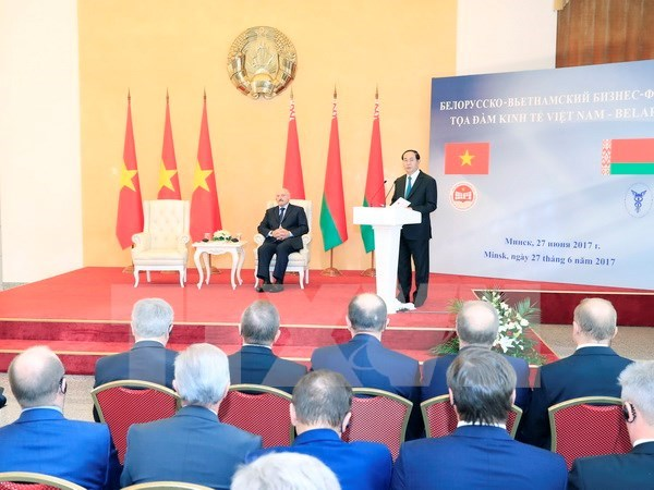 Vietnam y Belarus promueven nexos economicos hinh anh 1