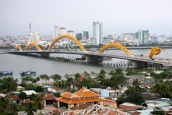 Ciudad vietnamita de Da Nang dispuesta para la Semana del APEC 2017 hinh anh 1